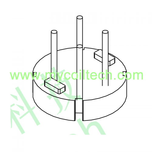 Transformer Common Mode Inductor Bobbin Base