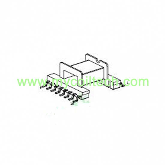 Horizontal EFD20 SMD transformer
