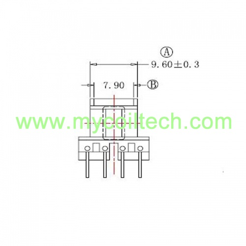 EE13 8 pin Transformer factory
